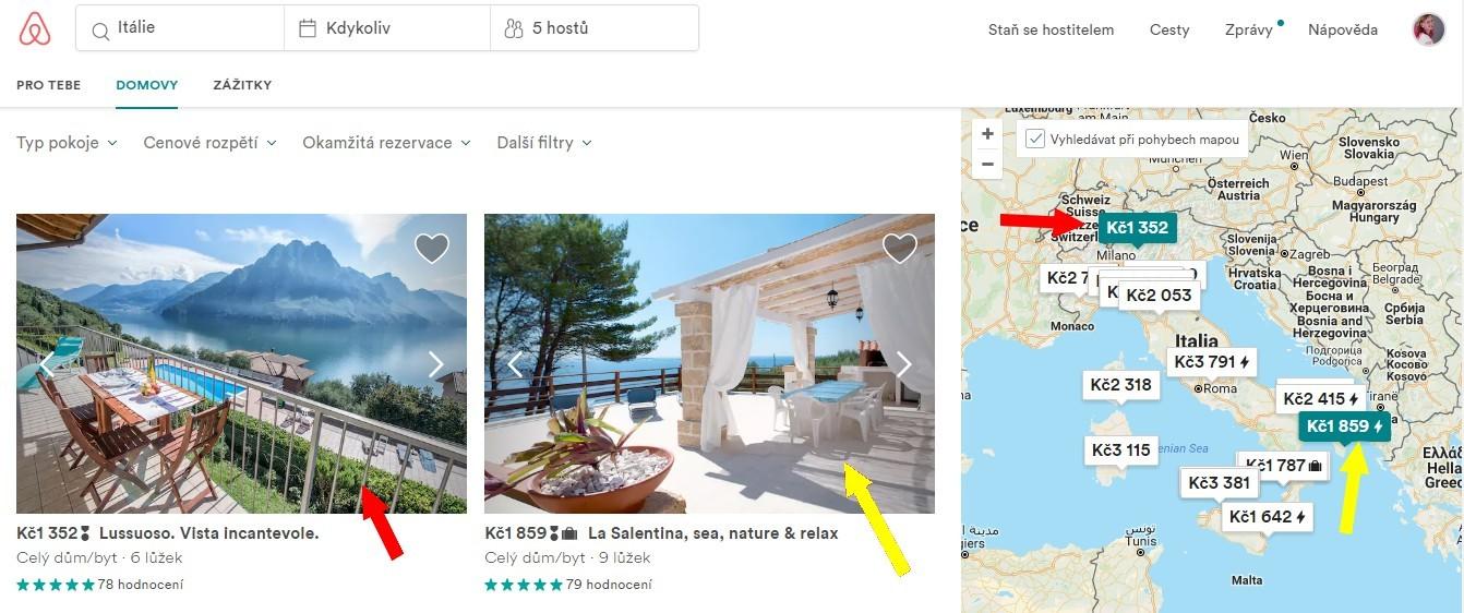 Airbnb zkusenost 2